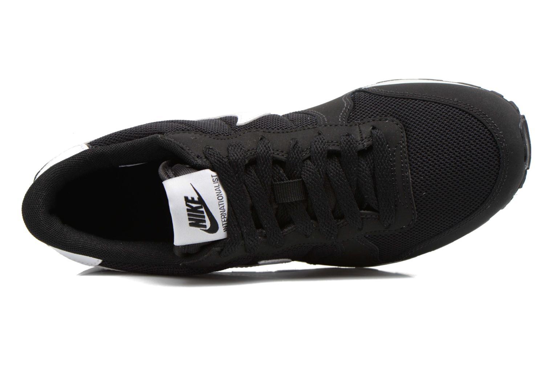 Baskets Nike Internationalist (Gs) Noir vue gauche
