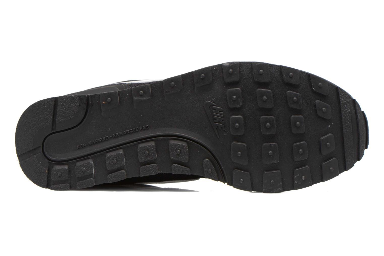 Baskets Nike Internationalist (Gs) Noir vue haut