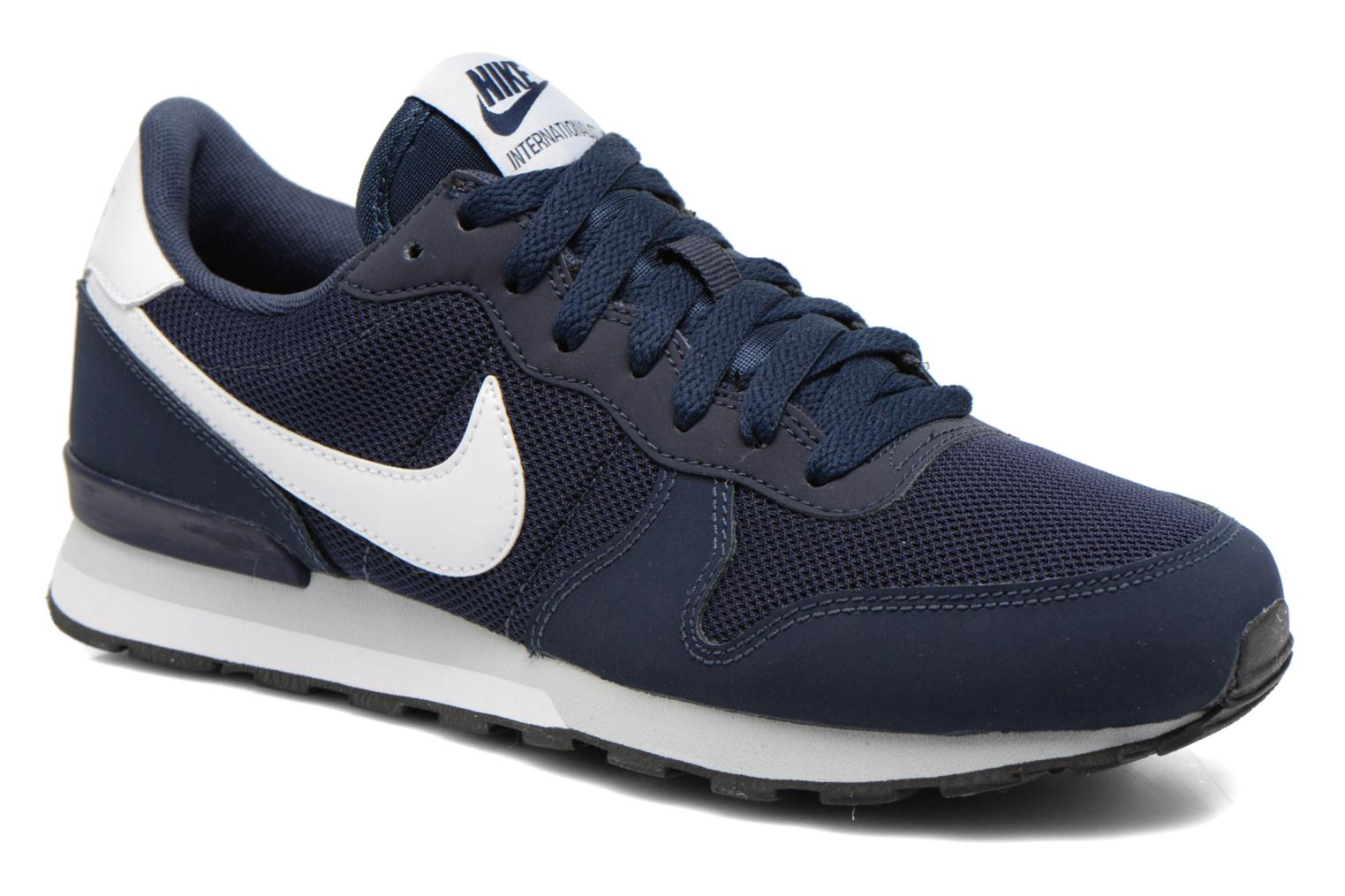 Baskets Nike Internationalist (Gs) Bleu vue détail/paire