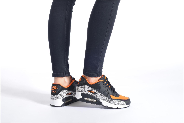 Baskets Nike Air Max 90 Safari (Gs) Multicolore vue bas / vue portée sac