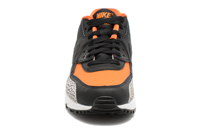 Baskets Nike Air Max 90 Safari (Gs) Multicolore vue portées chaussures