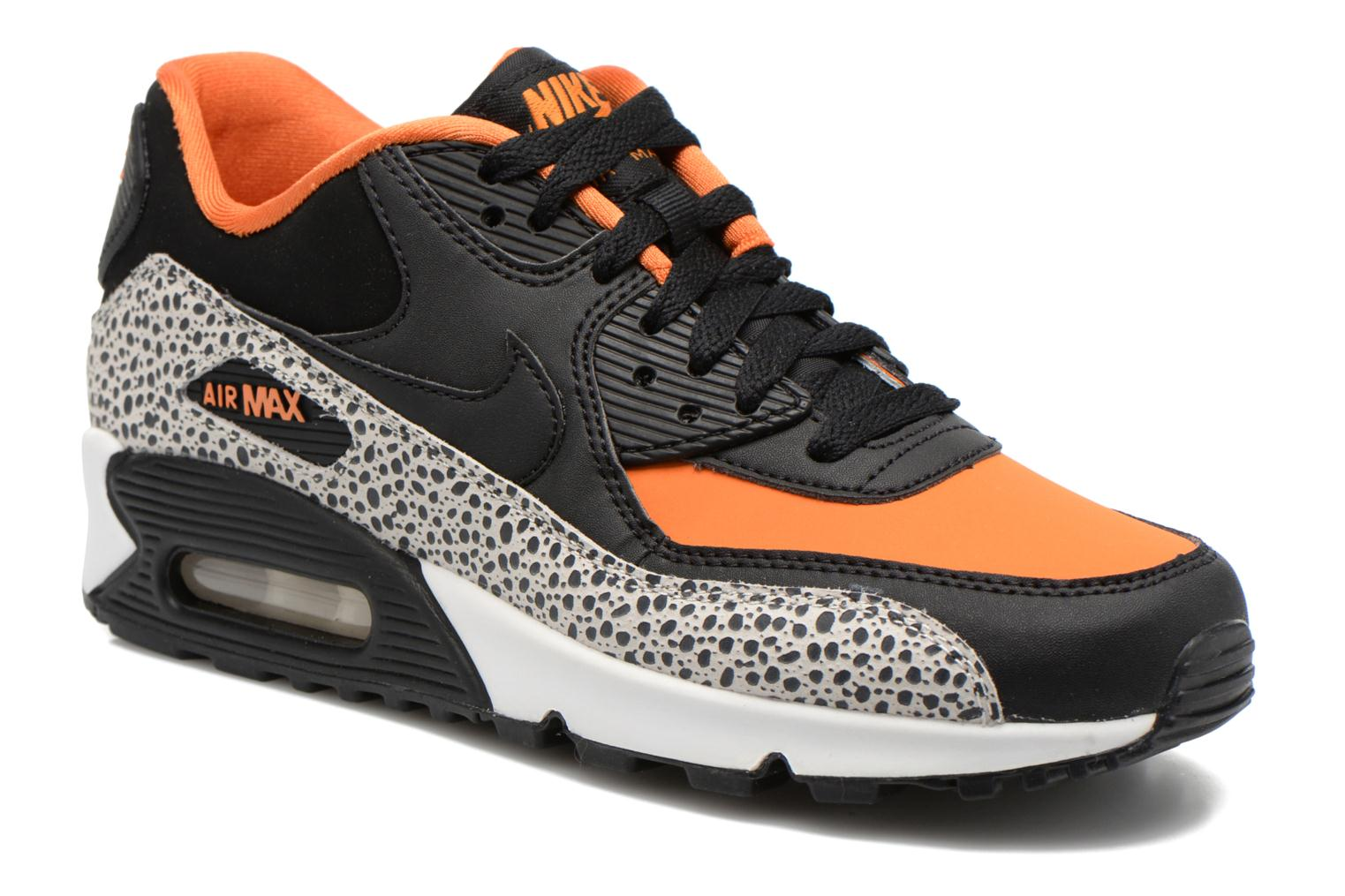 Baskets Nike Air Max 90 Safari (Gs) Multicolore vue détail/paire