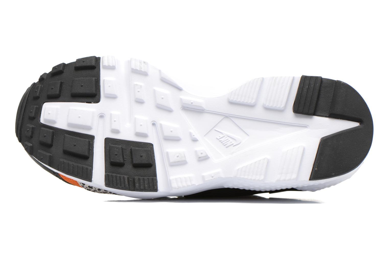 Baskets Nike Huarache Run Safari (Gs) Noir vue haut