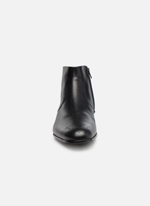 Bottines et boots Jean-Baptiste Rautureau Rija Boots perfo Noir vue portées chaussures