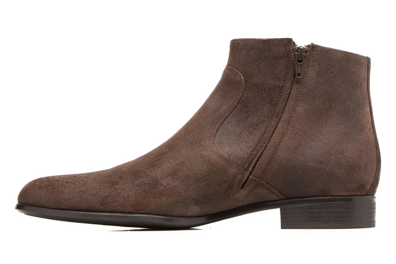 Bottines et boots Jean-Baptiste Rautureau Rija Boots perfo Marron vue face