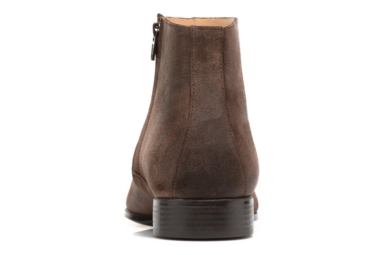 Bottines et boots Jean-Baptiste Rautureau Rija Boots perfo Marron vue droite