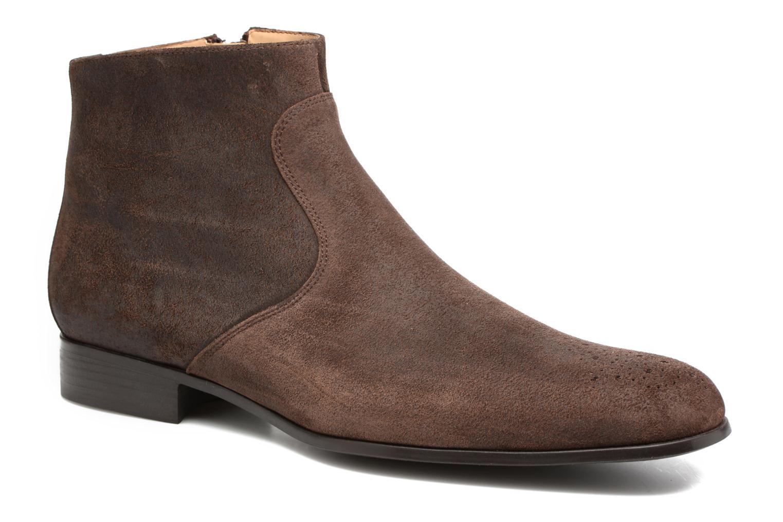 Bottines et boots Jean-Baptiste Rautureau Rija Boots perfo Marron vue détail/paire