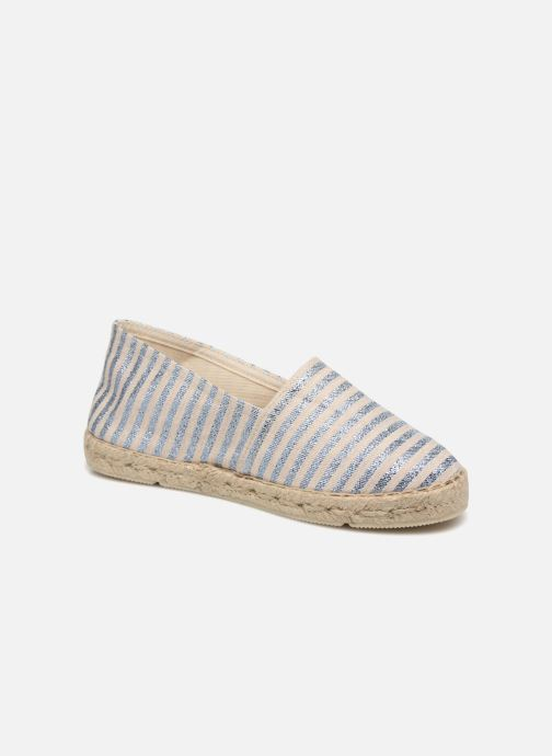 Espadrillos La maison de l'espadrille Lady Sabline E Sølv detaljeret billede af skoene