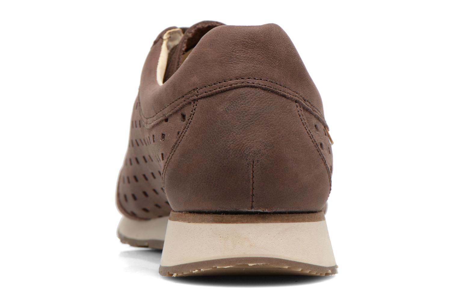 Baskets El Naturalista Walky ND98 Marron vue droite