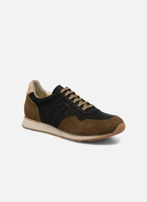 Trainers El Naturalista Walky ND90 Black detailed view/ Pair view