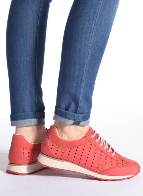 Sneakers El Naturalista Walky ND98 Rosso immagine dal basso