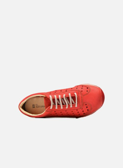 Baskets El Naturalista Walky ND98 Rouge vue gauche