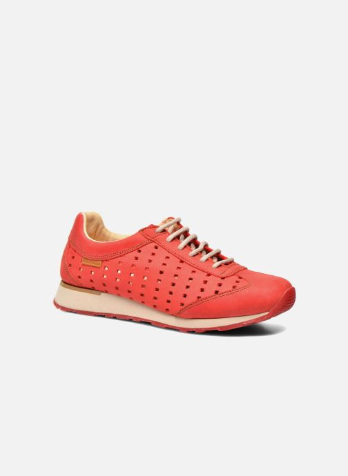Trainers El Naturalista Walky ND98 Red detailed view/ Pair view