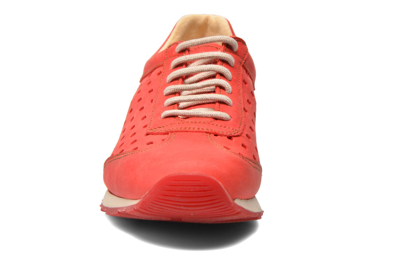 Baskets El Naturalista Walky ND98 Rouge vue portées chaussures