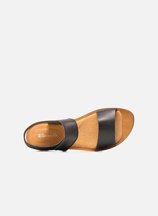 Sandales et nu-pieds El Naturalista Tulip NF30 Noir vue gauche
