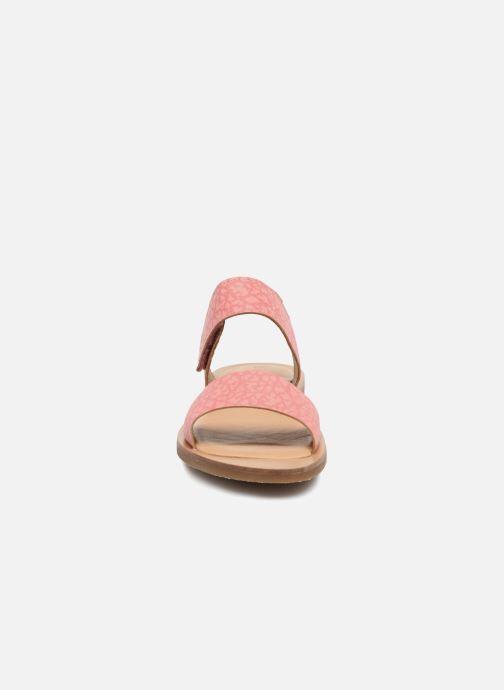 Sandales et nu-pieds El Naturalista Tulip NF30 Rose vue portées chaussures