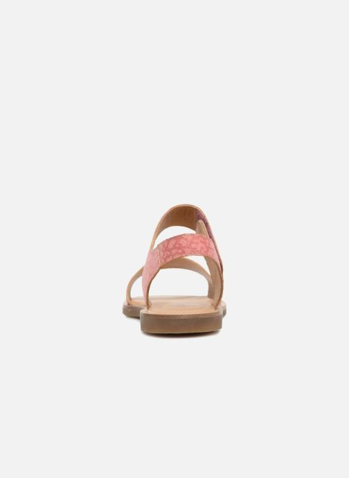 Sandals El Naturalista Tulip NF30 Pink view from the right