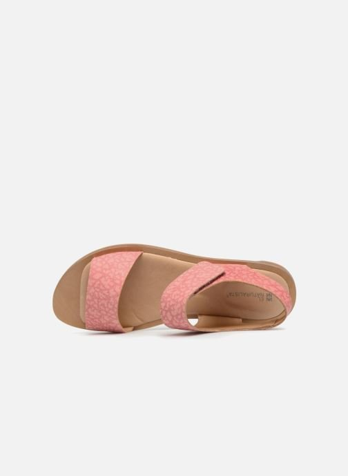 Sandals El Naturalista Tulip NF30 Pink view from the left