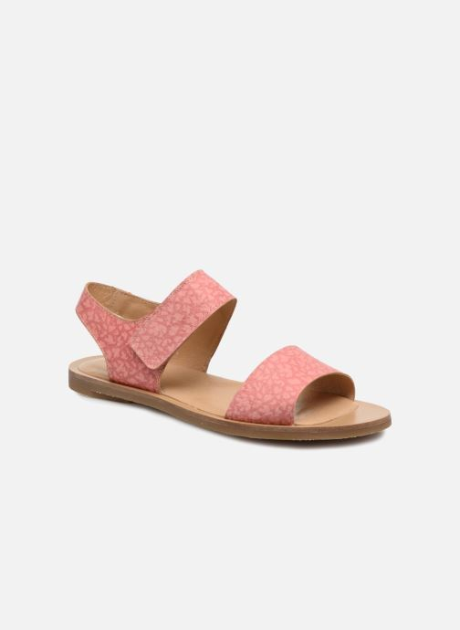 Sandals El Naturalista Tulip NF30 Pink detailed view/ Pair view
