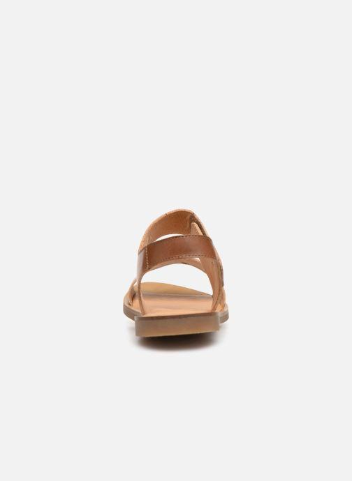 Sandales et nu-pieds El Naturalista Tulip NF30 Marron vue droite