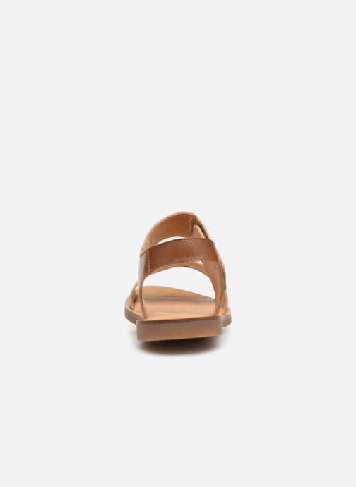 Sandals El Naturalista Tulip NF30 Brown view from the right