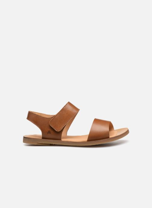 Sandals El Naturalista Tulip NF30 Brown back view