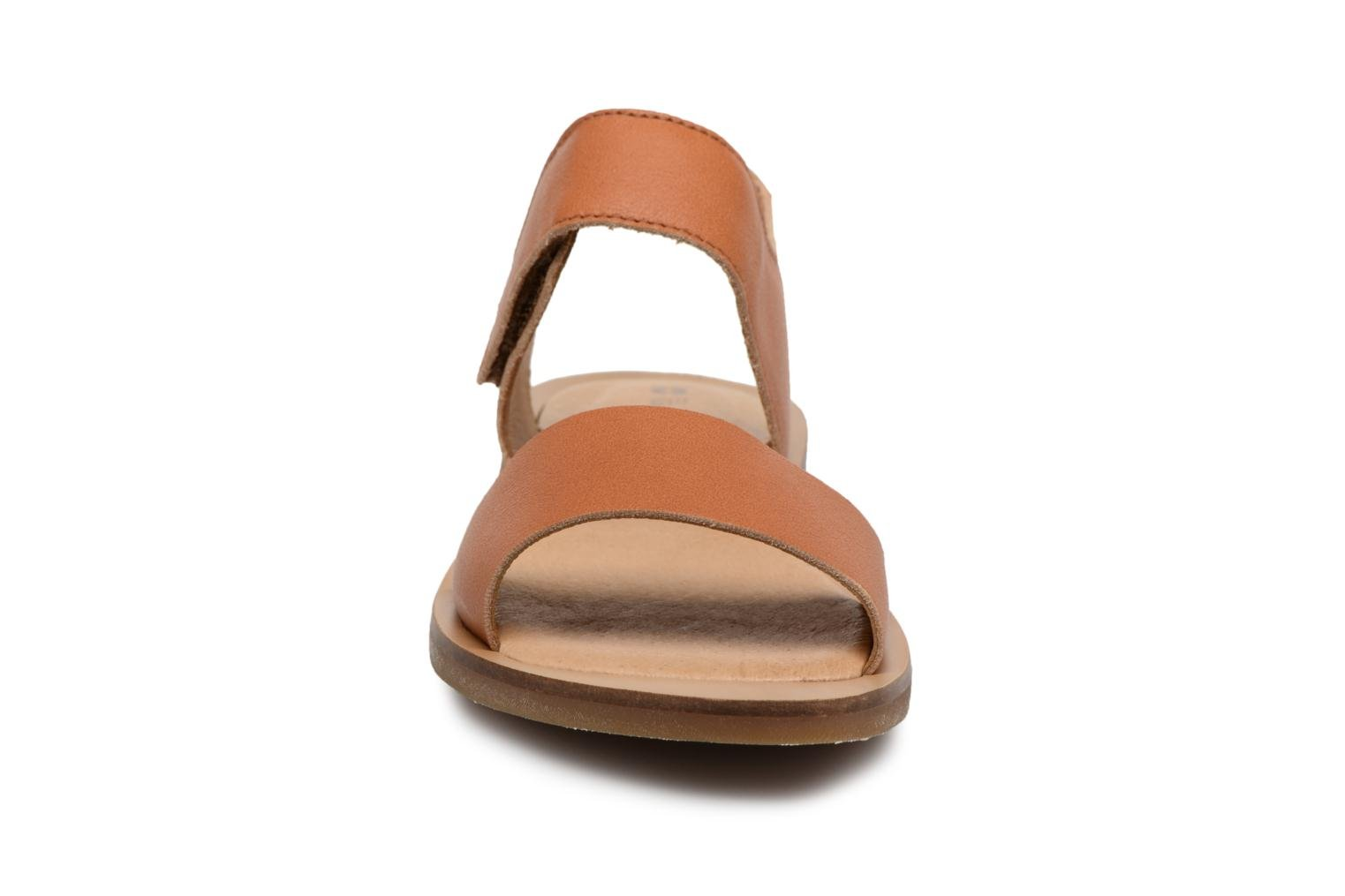 Sandals El Naturalista Tulip NF30 Brown model view