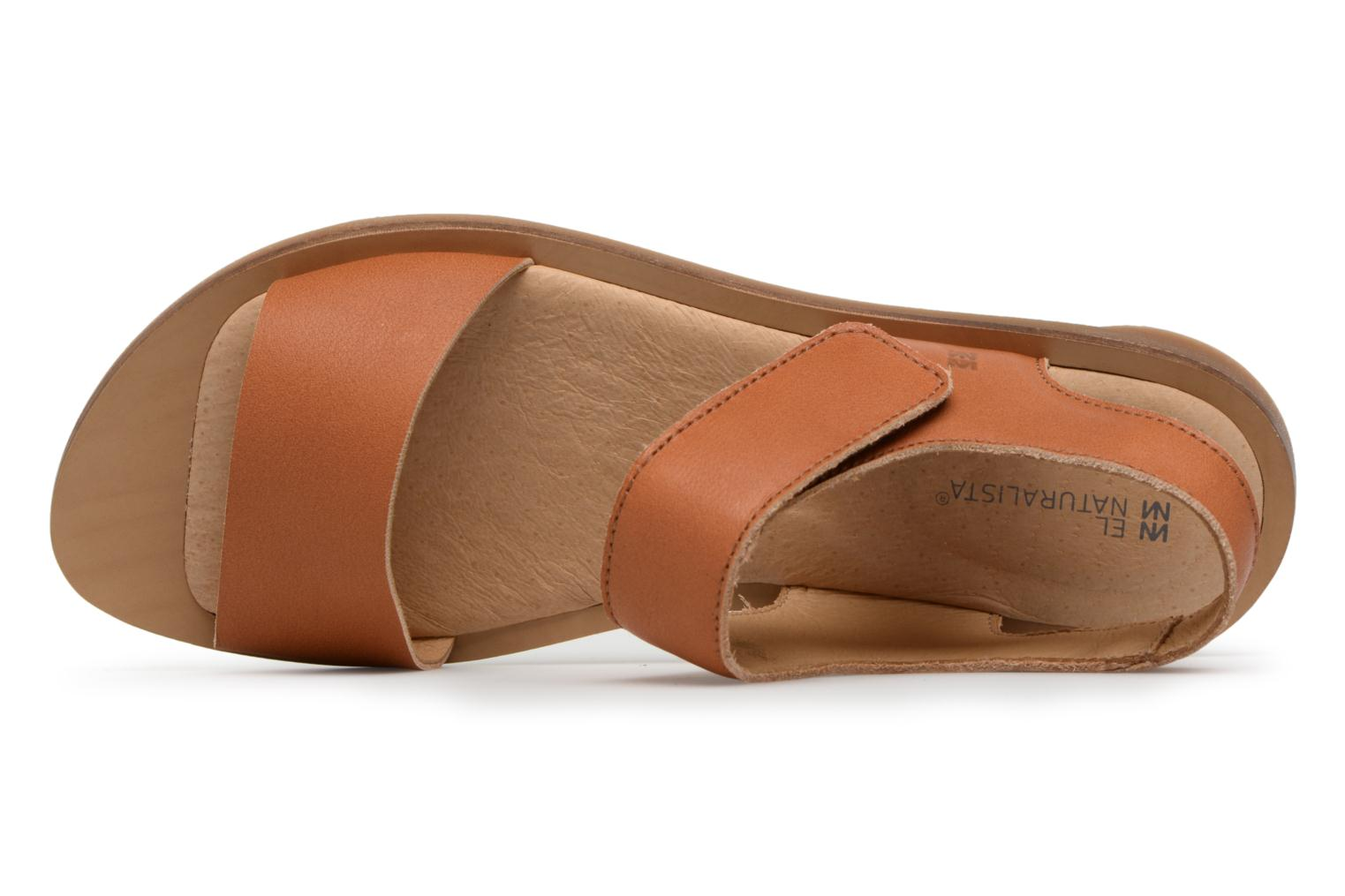 Sandals El Naturalista Tulip NF30 Brown view from the left