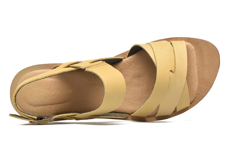Sandales et nu-pieds El Naturalista Tulip NF33 Jaune vue gauche