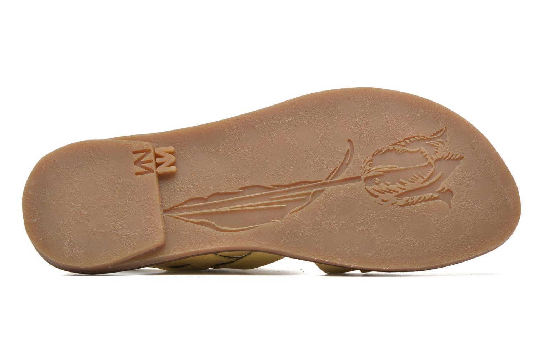 Sandales et nu-pieds El Naturalista Tulip NF33 Jaune vue haut