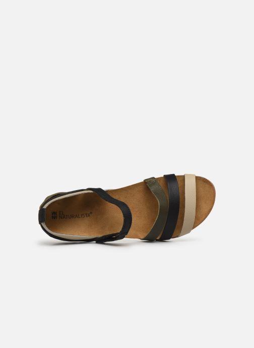 Sandales et nu-pieds El Naturalista Zumaia NF42 Noir vue gauche