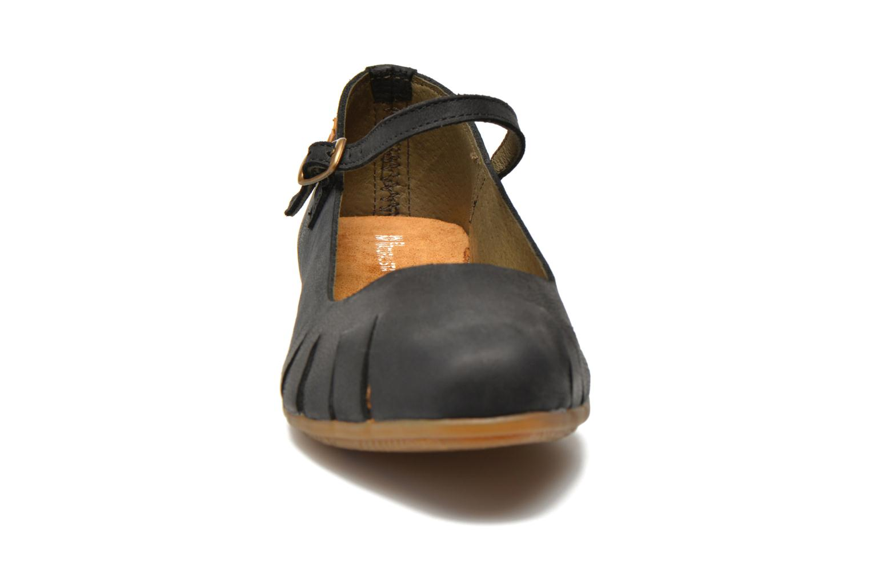 Ballerines El Naturalista Stella ND53 Noir vue portées chaussures