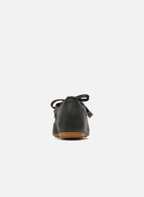 Zapatos con cordones El Naturalista Stella ND52 Negro vista lateral derecha