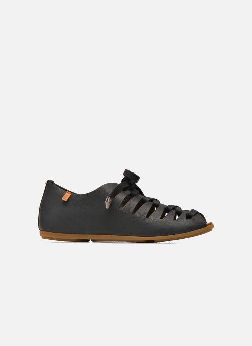 Lace-up shoes El Naturalista Stella ND52 Black back view