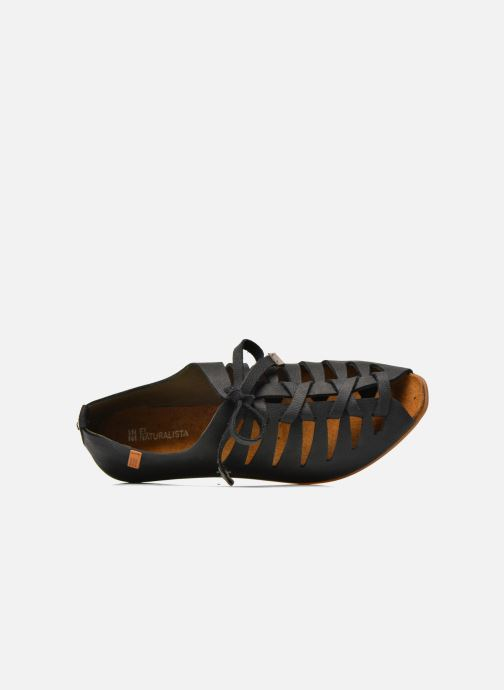 Lace-up shoes El Naturalista Stella ND52 Black view from the left