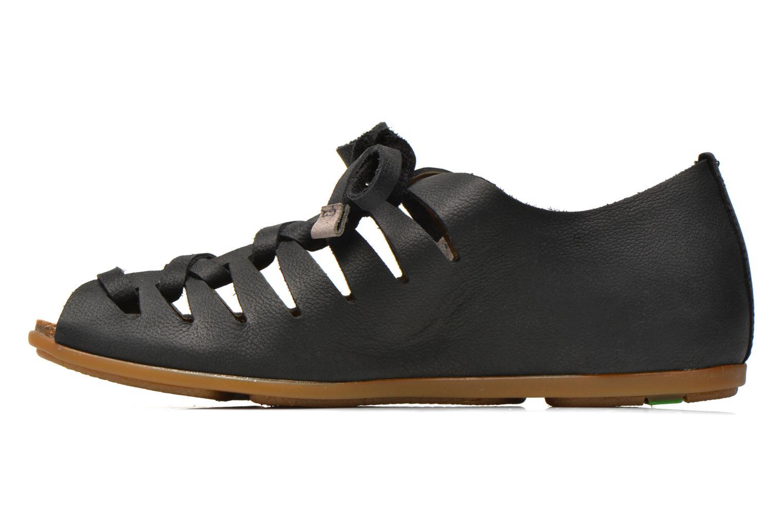 Chaussures à lacets El Naturalista Stella ND52 Noir vue face