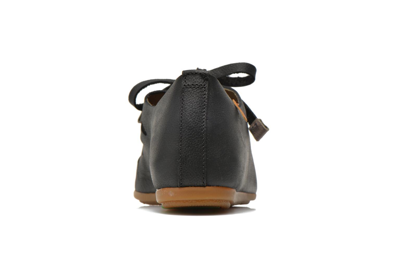 Chaussures à lacets El Naturalista Stella ND52 Noir vue droite