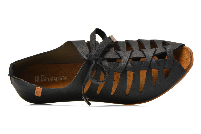 Chaussures à lacets El Naturalista Stella ND52 Noir vue gauche