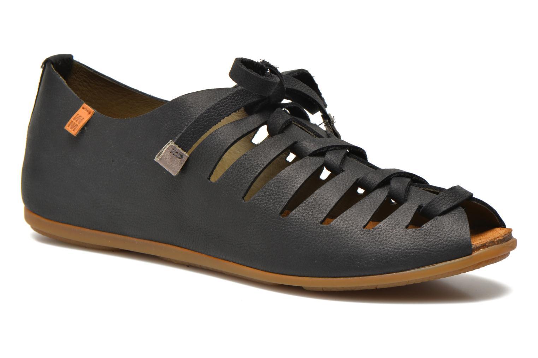 Chaussures à lacets El Naturalista Stella ND52 Noir vue détail/paire
