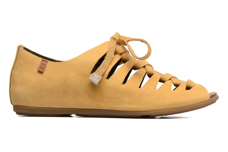 Zapatos con cordones El Naturalista Stella ND52 Amarillo vistra trasera