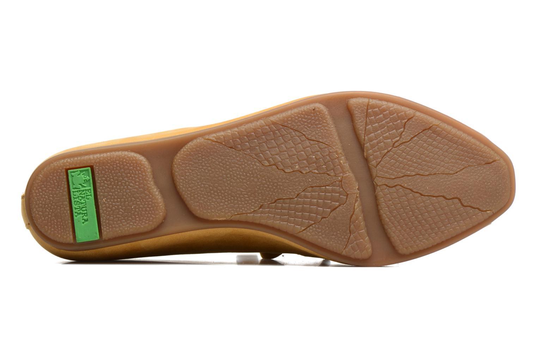 Zapatos con cordones El Naturalista Stella ND52 Amarillo vista de arriba