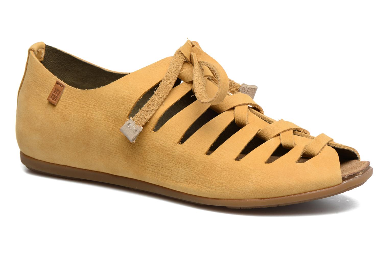 Zapatos con cordones El Naturalista Stella ND52 Amarillo vista de detalle / par