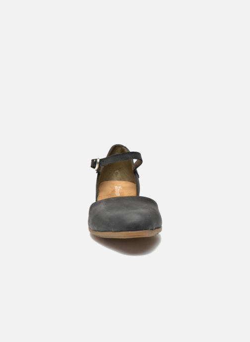Ballerines El Naturalista Stella ND54 Noir vue portées chaussures