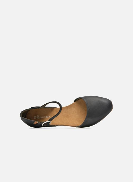 Ballet pumps El Naturalista Stella ND54 Black view from the left