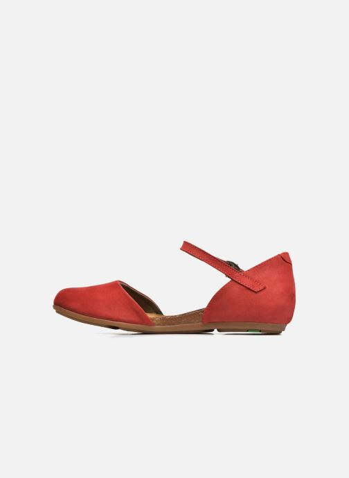 Ballerines El Naturalista Stella ND54 Rouge vue face