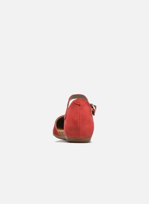 Ballet pumps El Naturalista Stella ND54 Red view from the right
