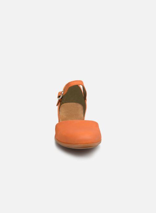 Ballerines El Naturalista Stella ND54 Orange vue portées chaussures