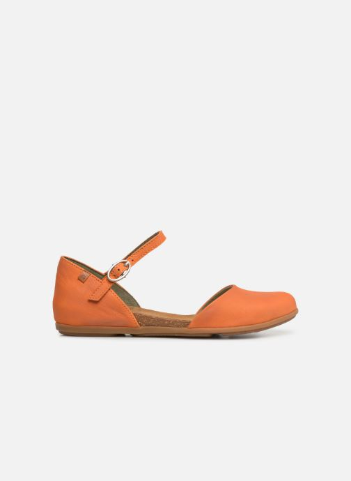 Ballet pumps El Naturalista Stella ND54 Orange back view