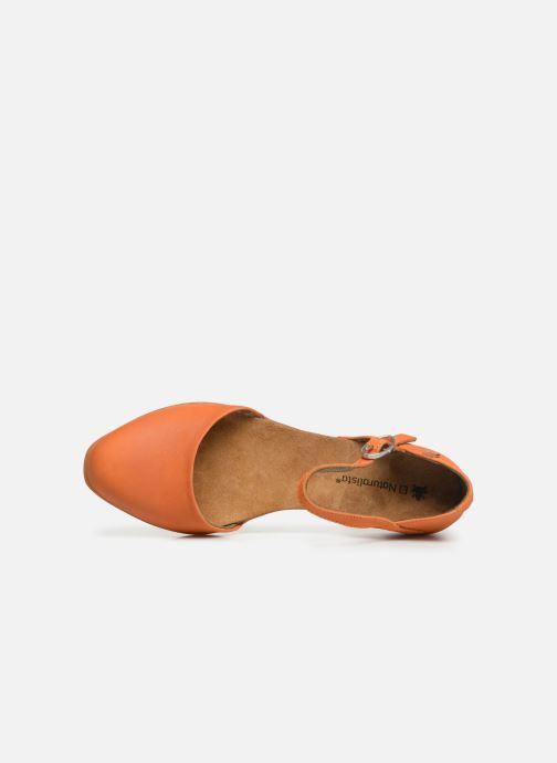 Ballerines El Naturalista Stella ND54 Orange vue gauche