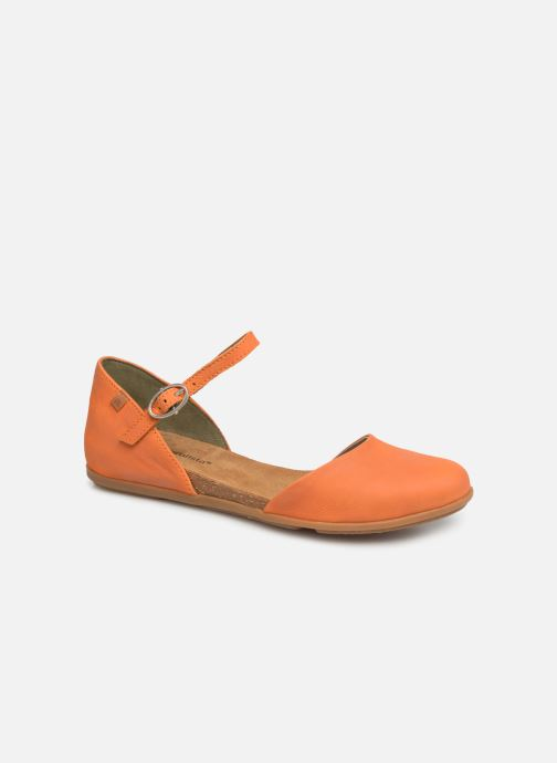 Ballet pumps El Naturalista Stella ND54 Orange detailed view/ Pair view